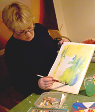Acrylic Painting Course London